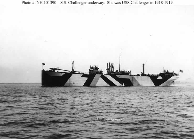 photograph of S.S. CHALLENGER