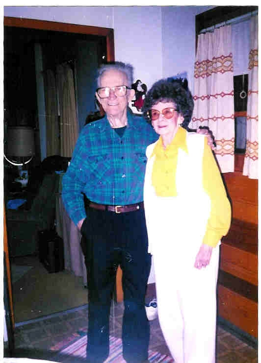 photograph of George and Glenna Winters